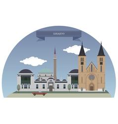 Sarajevo vector image