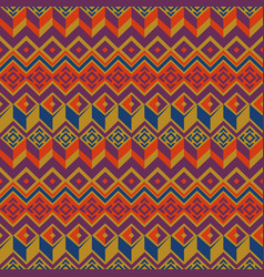 seamless ethnic pattern tribal seamless vector image
