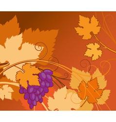 Vine background vector
