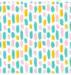 Abstract strokes seamless pattern background vector image vector image