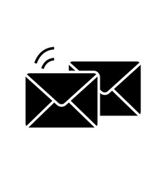 mail - email - envelope icon vector image