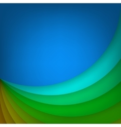 Arc layered modern background vector