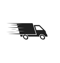 delivery icon flat design vector image