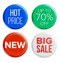 sale buttons set super sale and special vector image