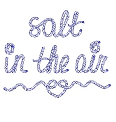 sand in air vector image