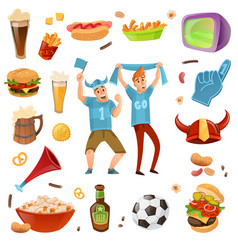 sport bar set vector image