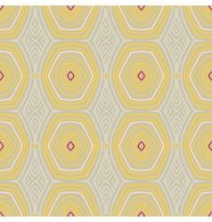 vintage pattern fifties wallpaper vector image