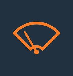 Windshield Wiper Icon vector image