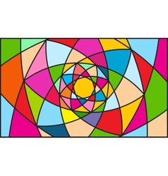 Kaleidoscope color background vector