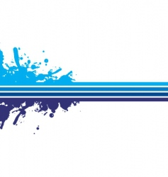 blue strips vector image vector image