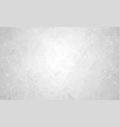 abstract gray light geometric polygonal vector image