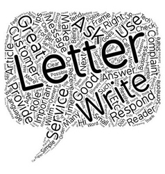 Complaint letters how to respond in 7 simple steps vector