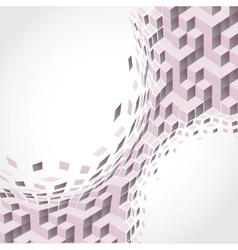 Cubism background vector