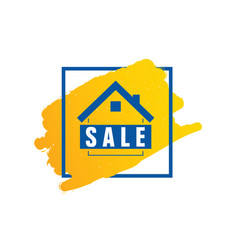 home sale icon vector image