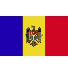 Moldova flag image vector