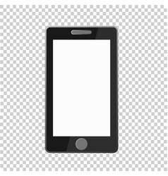 phone icon on transparent background phone icon vector image