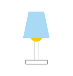 room lamp isolated icon vector image