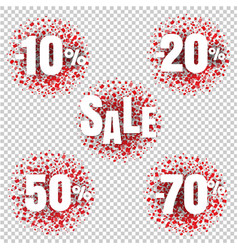 special offer price sign isolated transparent vector image