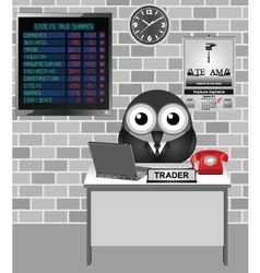 Stocks and Shares Crash vector
