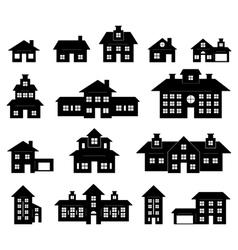 House set vector image