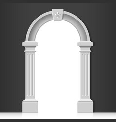 Classic arch vector image vector image