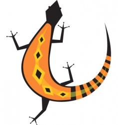 lizard vector image vector image