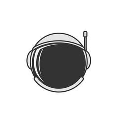 Astonauts helmet icon design template vector