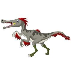 Dinosaur Triceratops cartoon vector