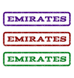 Emirates watermark stamp vector