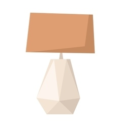Floor lamp vector image