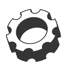 Gear cog wheel icon vector