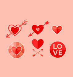 love valentines day vector image