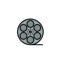 Movies play video american business logo template vector
