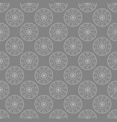 seamless abstract tribal texture ethnic vector image