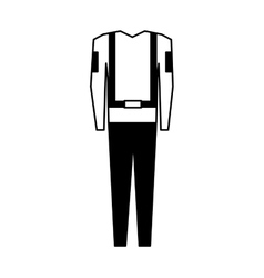 Suit safety uniform icon vector