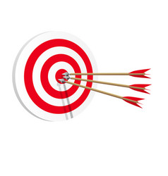 target icon art web success in business concept vector image