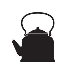 Tea Pot Isolated vector image vector image