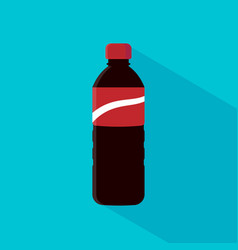 Bottle cola soda vector