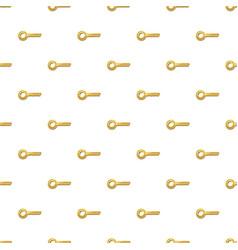 Golden key pattern vector