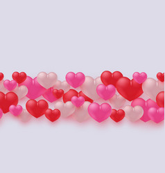 love and friendship banner vector image
