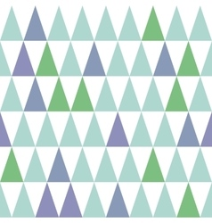 Seamless pattern with fir trees isolated on vector