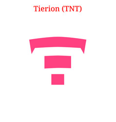 Tierion tnt logo vector
