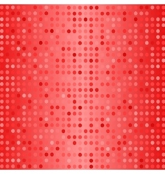 Dots on Red Background Halftone Texture vector image