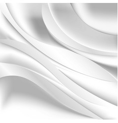 soft silky fabric silk waves background vector image