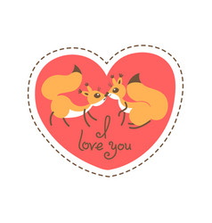 Card happy valentines day valentine heart shaped vector