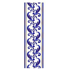 ceramic decorative line vector image