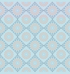 Ethnic vintage abstract seamless geometric pattern vector
