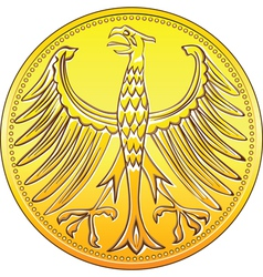 germany money gold vector image