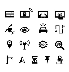 Navigation icon vector