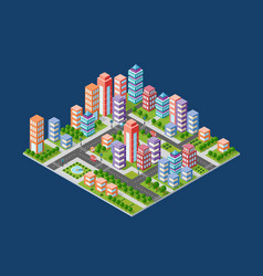 Urban area city vector